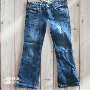 Express Bootcut Size 6s Jeans